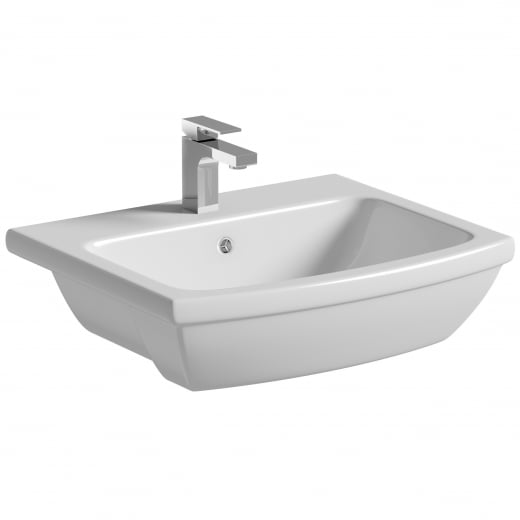 Amor Semi-recessed Washbasin