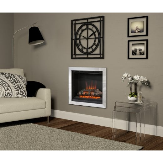 bemodern Casita wall mounted inset electric fire