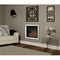 Casita wall mounted inset electric fire