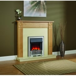 Dartford Eco Electric LED Fireplace