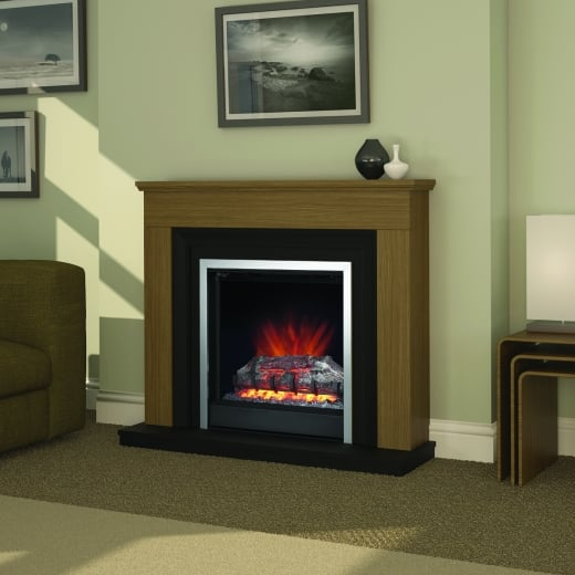 bemodern Hanbury Electric LED Fireplace