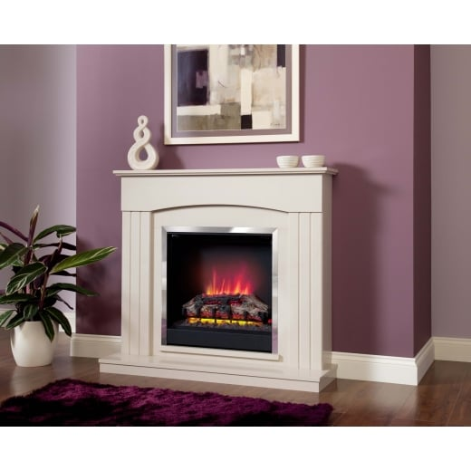 bemodern Linmere  Electric LED Fireplace