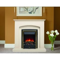 Lusso Eco Electric LED Fireplace