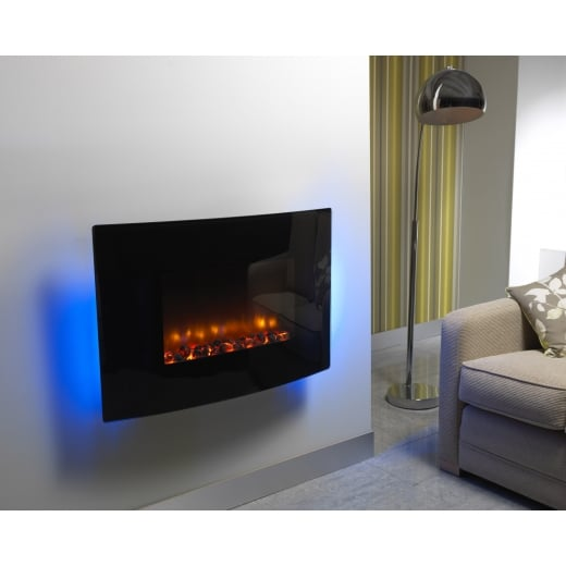 bemodern Orlando - Wall mounted electric fire