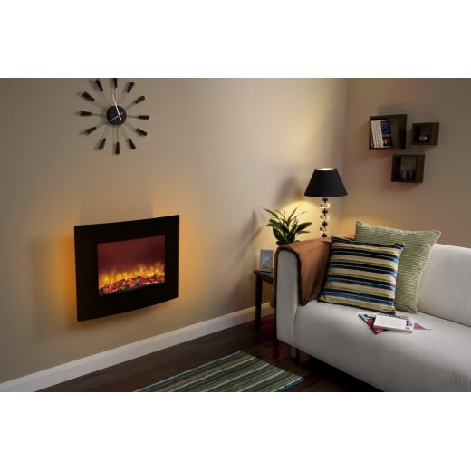 bemodern Quattro - Wall mounted electric fire