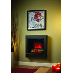 Serena Eco - 710mm Wall mounted or floor standing electric fire