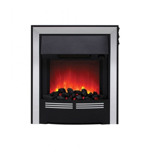 bemodern Vitesse  Coal Inset LED Electric Fire