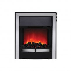 Vitesse  Coal Inset LED Electric Fire