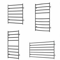Ellesmere Electric Towel Rail 1000 x 600 (Curved)