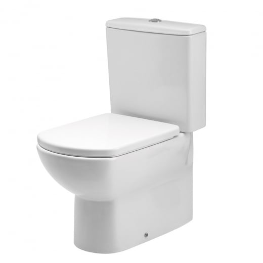 Astuto compact WC pan and compact Cistern with soft close Seat