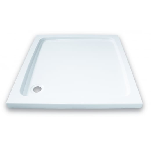 Square Svelte Shower Tray inc Waste