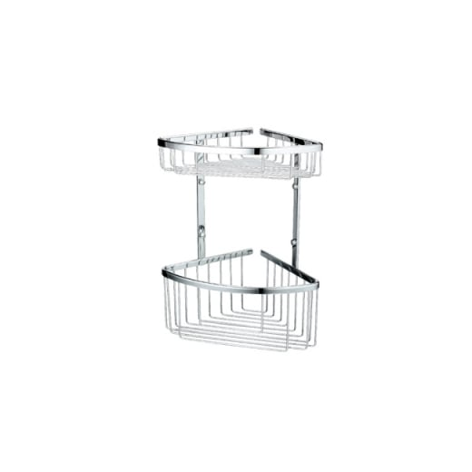 Stainless Steel Baskets Double Corner Basket