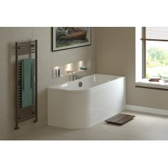 Angelo Premium Double Ended J LH Bath