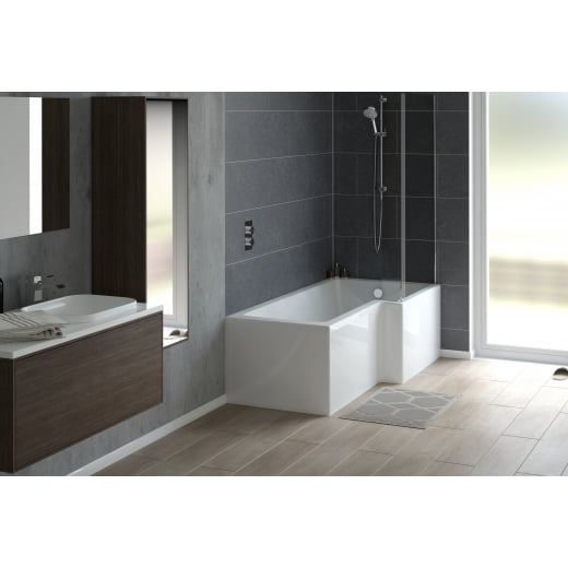 Tissino Lorenzo Premium RH 1700 x 700-850 Showerbath