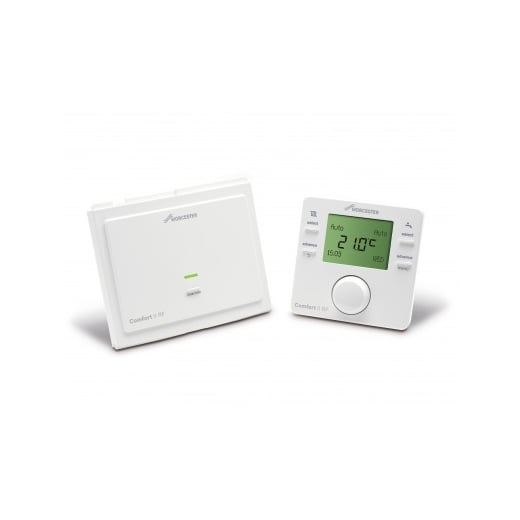 Worcester Greenstar Comfort II RF  programmable room thermostat and RF receiver
